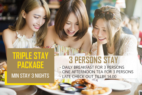 TRIPLE STAY PACKAGE