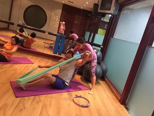 Pilates Classes at Arnoma Grand Bangkok