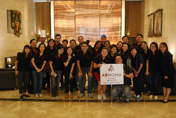 Singaporean Hospitality Students go on a learning journey at Arnoma Grand