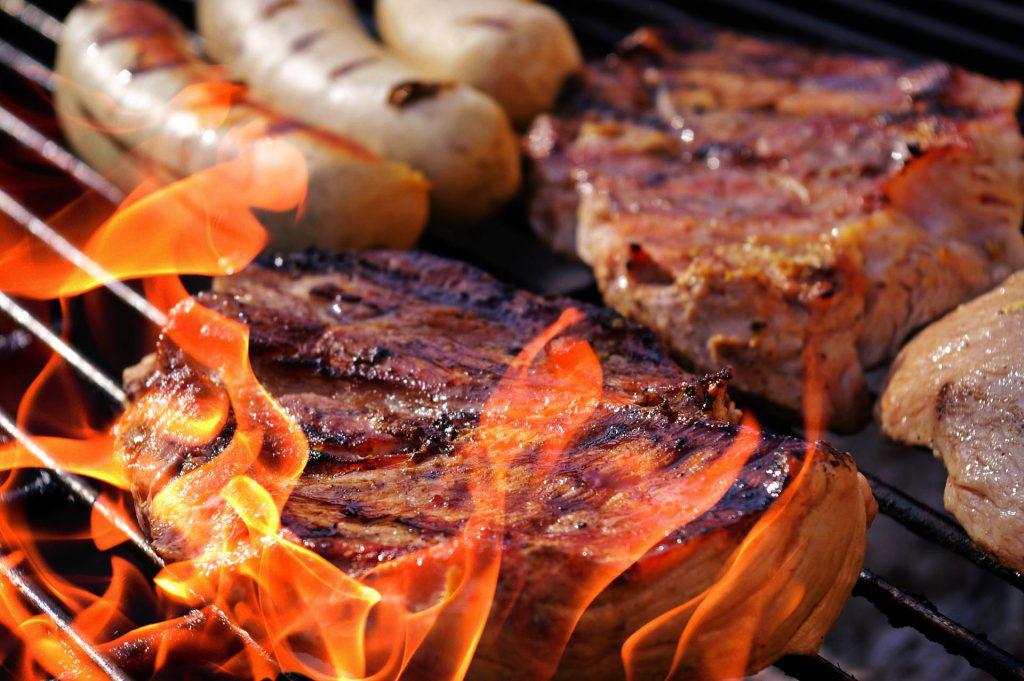 Steak night at Arnoma Grand Bangkok.