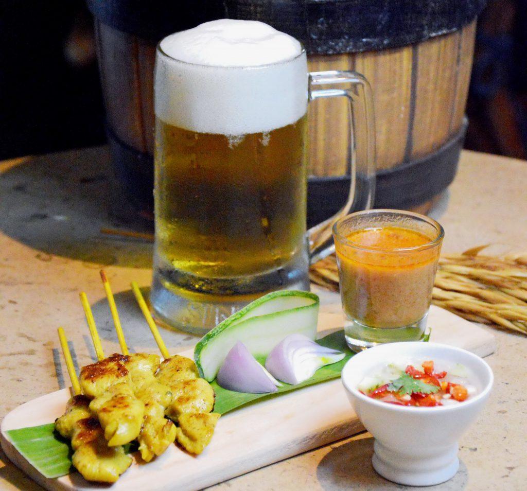 Satay & Beer