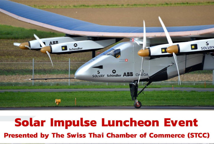 Solar Impulse Luncheon Presentation