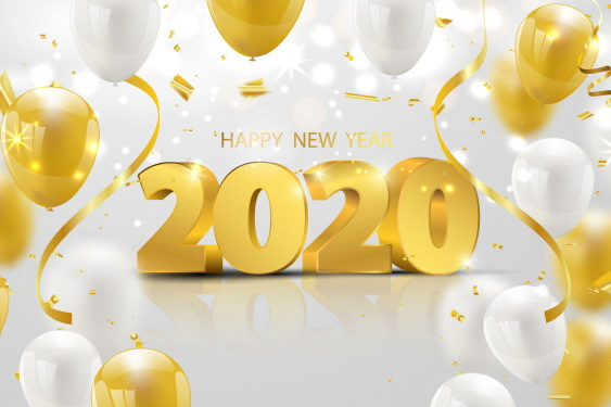 New Year's Day 1st January 2020
